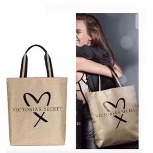 Victoria's Secret Shangai 2017 Gold Tote Bag